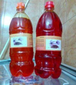 آب زعفران معراج