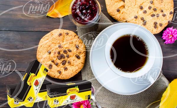 فروشگاه مرکزی عرضه چای نپتون زعفرانی