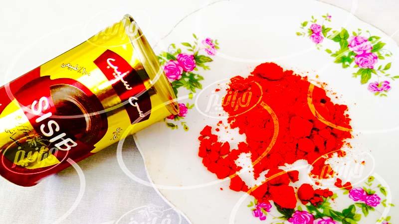 قیمت رنگ طبیعی زعفران 40 گرمی پودری