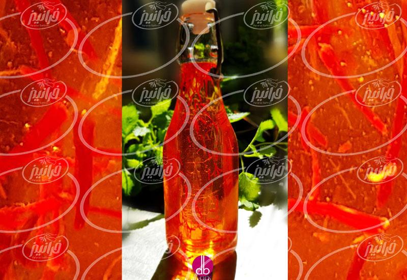 قیمت شربت زعفران یک و نیم لیتری صادراتی
