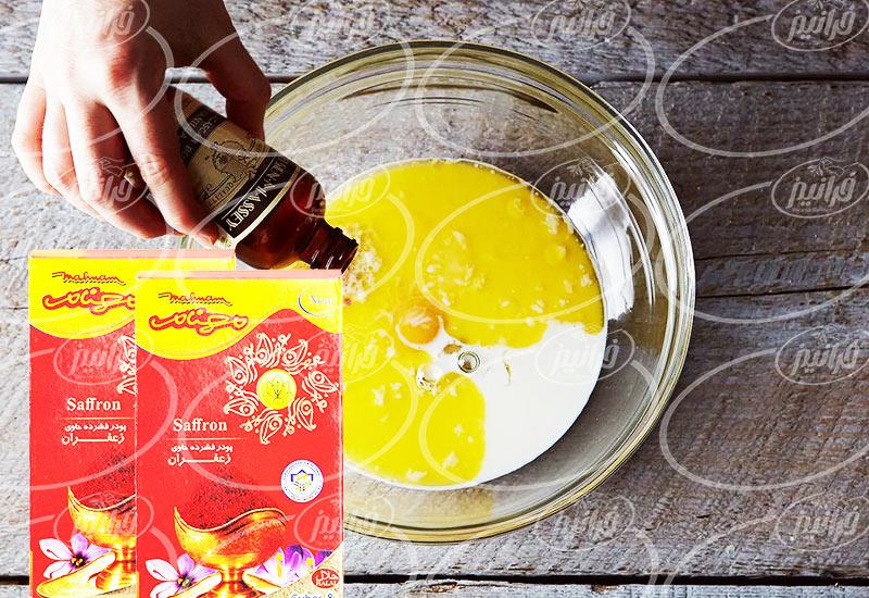 عرضه پودر زعفران مهنام گرمی برای رستوران
