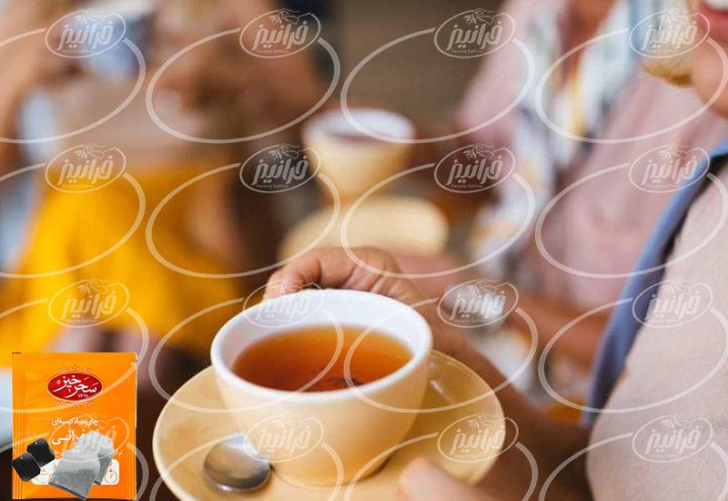 مرکز فروش چای زعفران اصل ایرانی