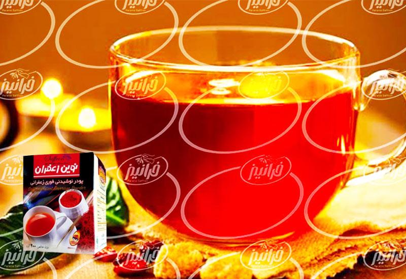 صادرات پرسود نوشیدنی زعفران نوین