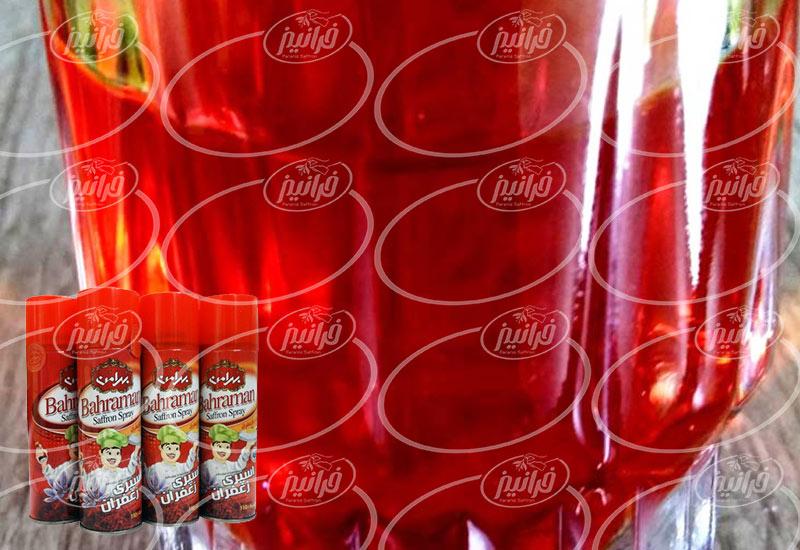 قیمت امسال اسپری زعفران بهرامن 110 میلی لیتری