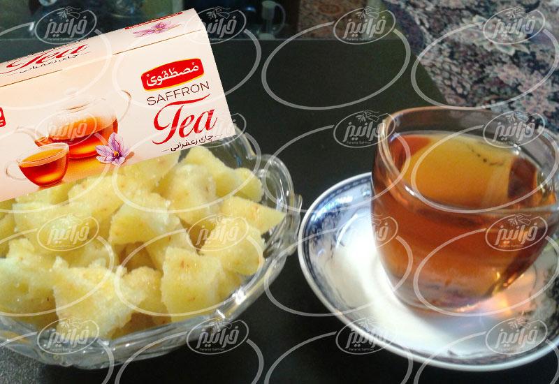 فروش چای زعفران مصطفوی به صورت مستقیم