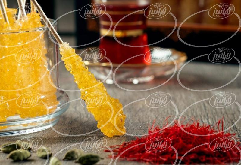 غلظت خوب عصاره زعفران سحرخیزان برای پخت و پز