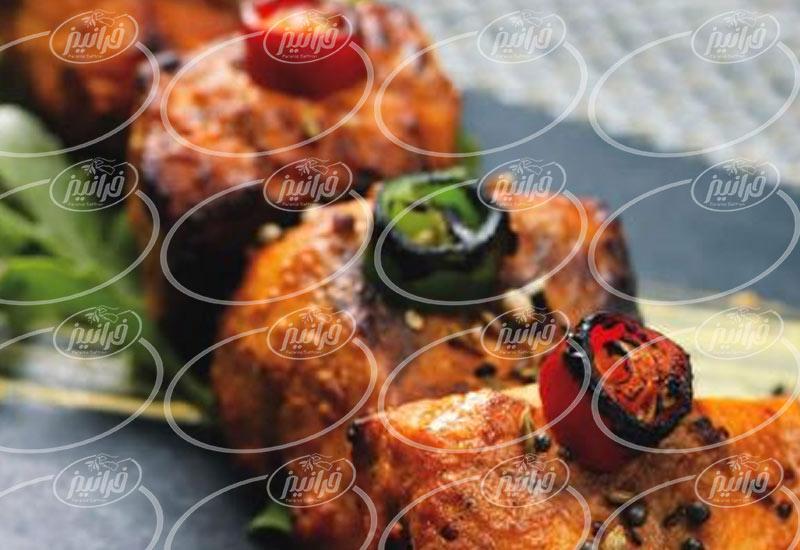 مراحل فروش رنگ غذای زعفران در بازار ایران