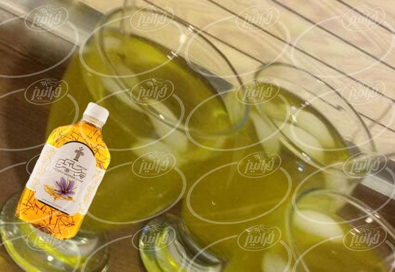 تجارت شربت زعفران پرسیکو در غرب