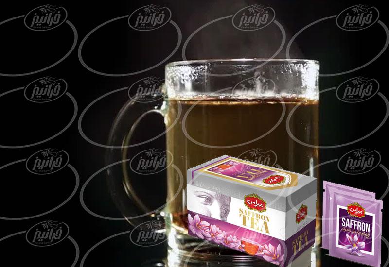 میزان فروش چای میزان فروش چای زعفرانی بهرامن