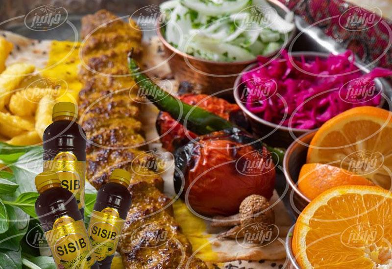 تعیین قیمت رنگ زعفرانی سی سیب جدید