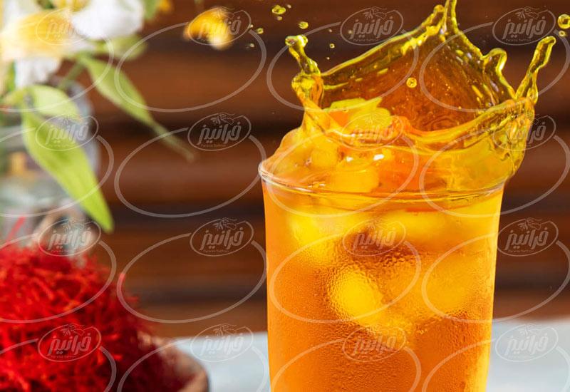 راحت ترین روش صادرات شربت زعفران